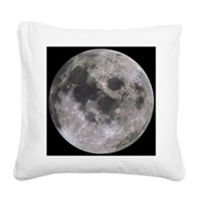 moon-200 Square Canvas Pillow