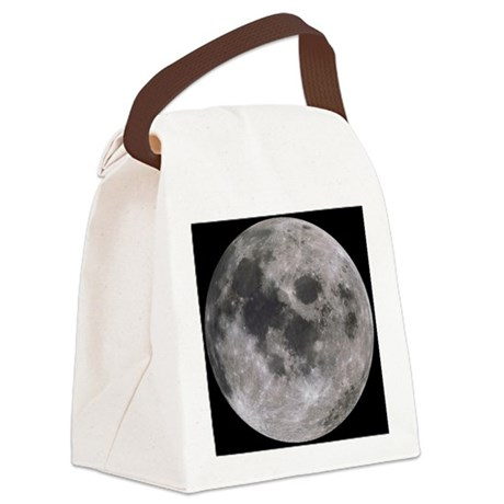 moon-200 Canvas Lunch Bag