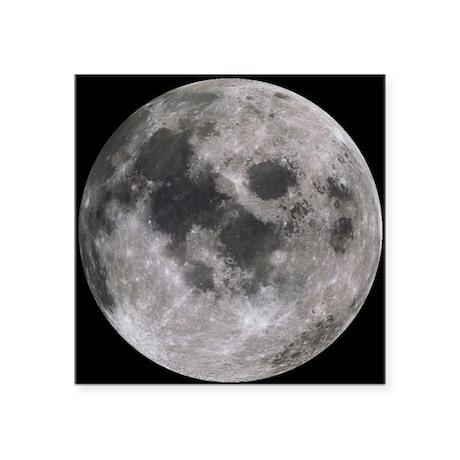 "moon-200 Square Sticker 3"" x 3"""