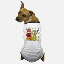 BellyKitty_Green_tank Dog T-Shirt