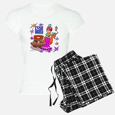 BellyKitty_Pink_tank Pajamas
