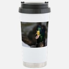 Odd Duck Sticking Tongue Out Travel Mug