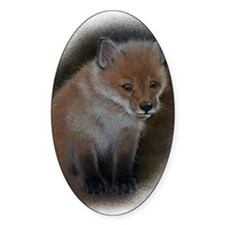 Fox cub 1 Decal