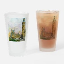 big ben small poster Drinking Glass