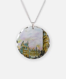 big ben small poster Necklace