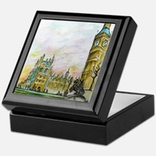big ben small poster Keepsake Box