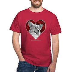 Welsh Corgi Heart T-Shirt