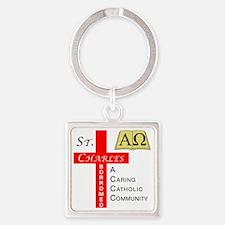 StCharlesV4 Square Keychain
