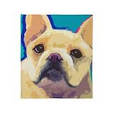 French bulldog Blankets