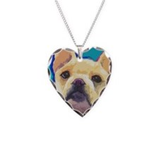 large yell cafepress Necklace Heart Charm