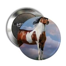 "Sky King Of The Hill 2.25"" Button"