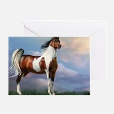 Sky King Of The Hill Greeting Card