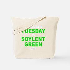 Tuesday dark Tote Bag