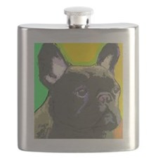 large brindle cafe Flask