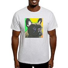 large brindle cafe T-Shirt