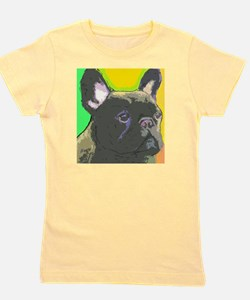 large brindle cafe Girl's Tee