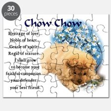 chow chow heritage puppy 3 Puzzle