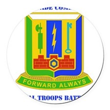 DUI-3RD BDE, SPECIAL TROOPS with  Round Car Magnet