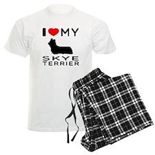 I love My Skye Terrier Pajamas