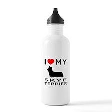 I love My Skye Terrier Sports Water Bottle