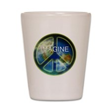 peace sightx2nfont copy Shot Glass
