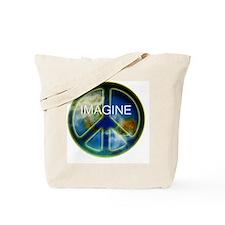 peace sightx2nfont copy Tote Bag