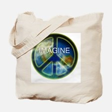 peace sightx2nfont copy Tote Bag