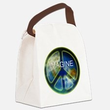 peace sightx2nfont copy Canvas Lunch Bag