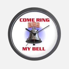 RING MY BELL Wall Clock