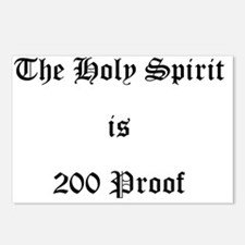 Holy Spirit = 200 Proof Postcards (Package of 8)