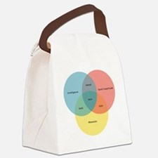 nerd-paradigm-solo Canvas Lunch Bag