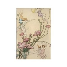 Flower Fairies Rectangle Magnet