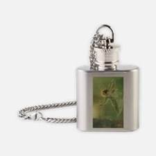 Mystical Lake Fairy Flask Necklace