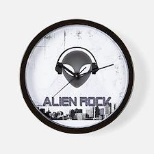 alien_rock01 Wall Clock