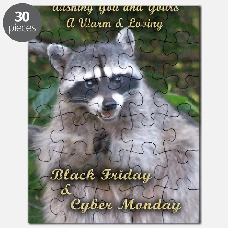Black Friday card Puzzle