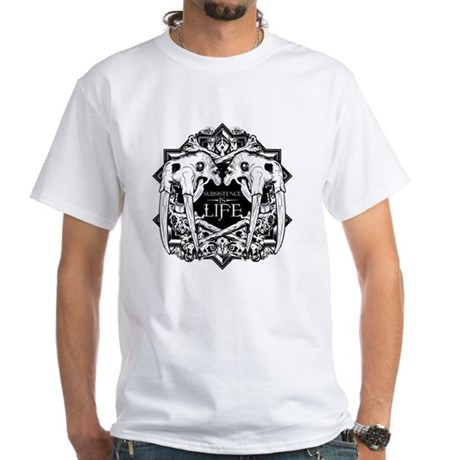 Subsistence is Life - Walrus White T-Shirt