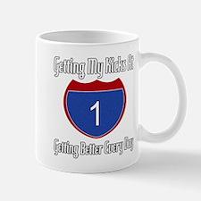 Highway 1st Birthday Mug