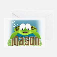 mason-turtle2010 Greeting Card