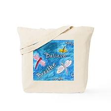 dragonflies_wordart Tote Bag