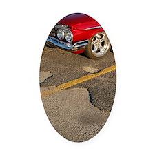Mashutt june 11 109 Oval Car Magnet