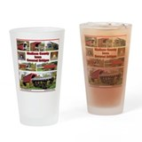 Roseman bridge bridges of madison county Pint Glasses
