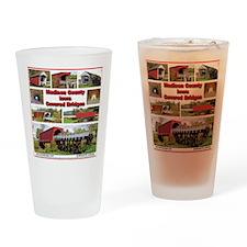P-MadisonCoBridges-T-Shirt Drinking Glass