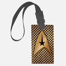 star-trek-brass-grid_3g Luggage Tag
