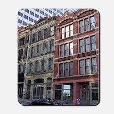 Cincinnati cityscape jrnl Mousepad