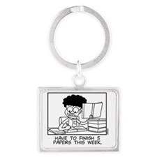 Papers Landscape Keychain