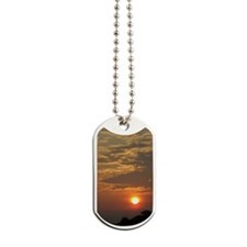 Sunset jrnl Dog Tags