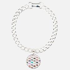 Girly Whimsical Retro Fl Bracelet