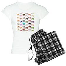 Girly Whimsical Retro Flora Pajamas