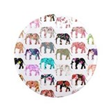 Elephants vintage Single