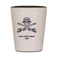 Lady Chaos Crew Shot Glass